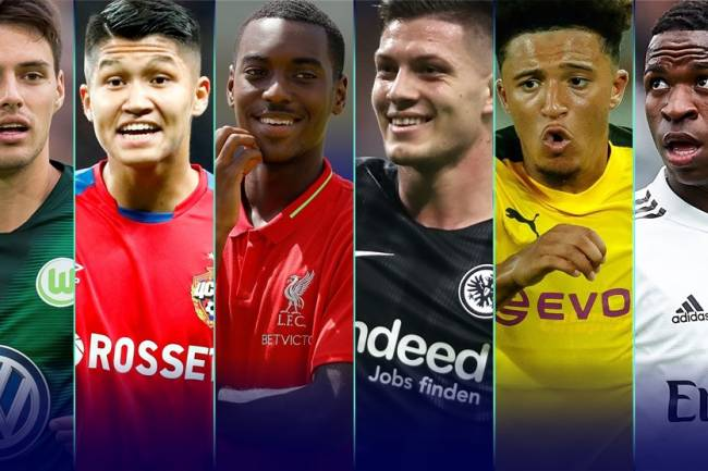 50 for the future: UEFA 's ones to watch for 2019